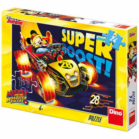 Puzzle - Clubul lui Mickey Mouse (24 piese)0