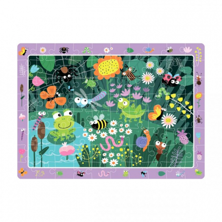 Puzzle - In gradina (80 piese)1