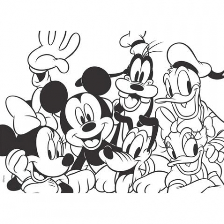 Puzzle Mickey Mouse (60 piese) [1]