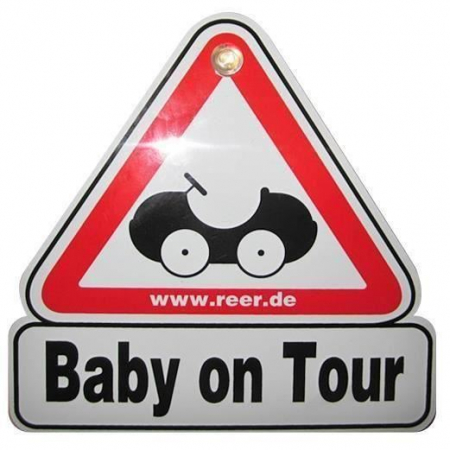 Semn de masina Baby on Tour REER 802100