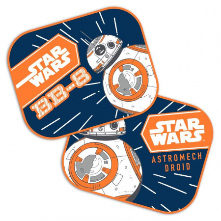 Set 2 parasolare auto Star Wars - BB8 SEV93150