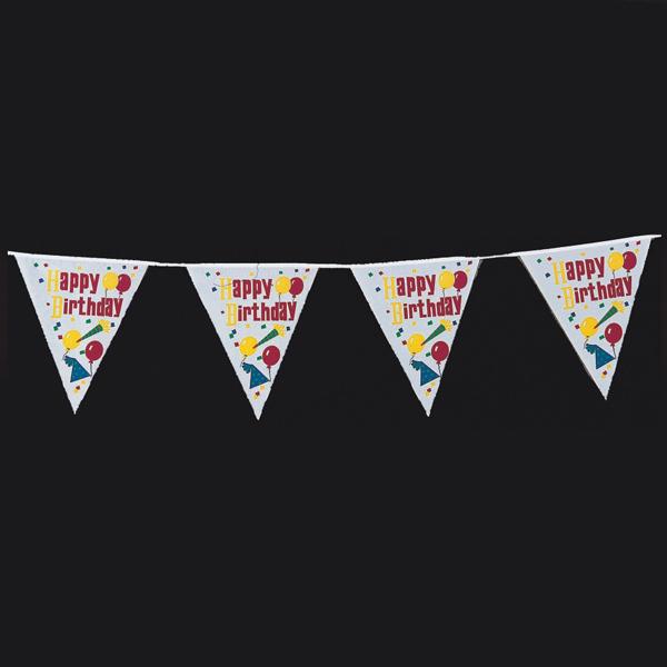 """Ghirlanda stegulete party """"Happy Birthday"""" 4m H25cm [0]"""