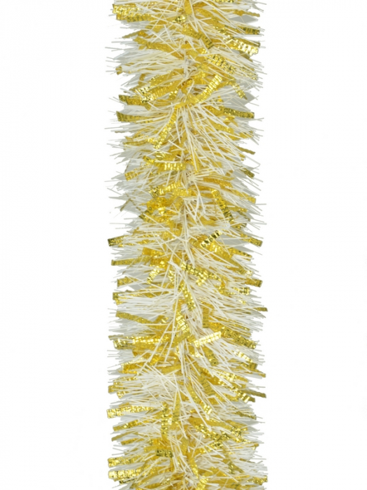 Beteala 75mm lungime 2m alb auriu 0