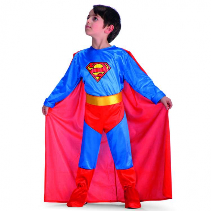 Costum Super Boy copii 6-7 ani 0