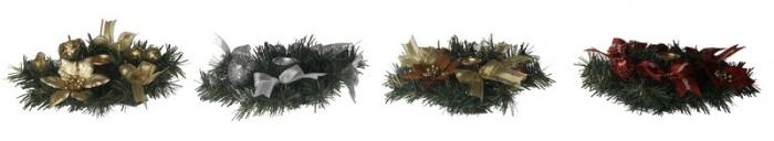 Ornament pentru masa cu suport pentru lumanare 20cm 0