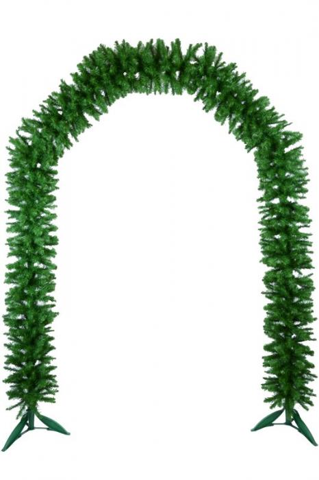 Ghirlanda Arc Cosmos verde inaltime 240cm 0