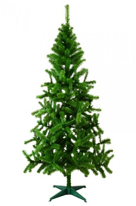 Brad artificial de Craciun Fagaras 210 cm verde 0