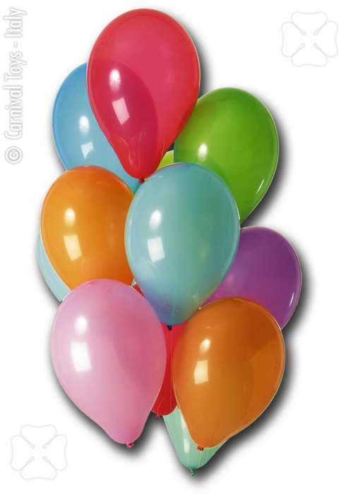 Set 100 baloane diametru 28cm culori asortate 0