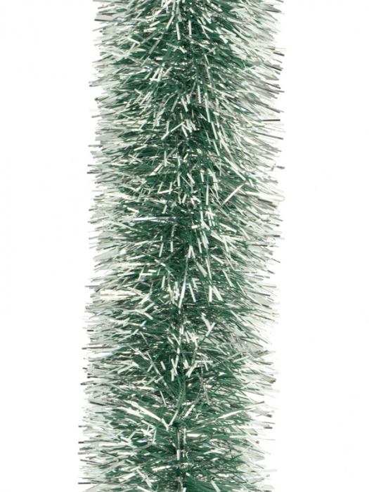 Beteala verde cu varfuri albe 75mm uri albe 0