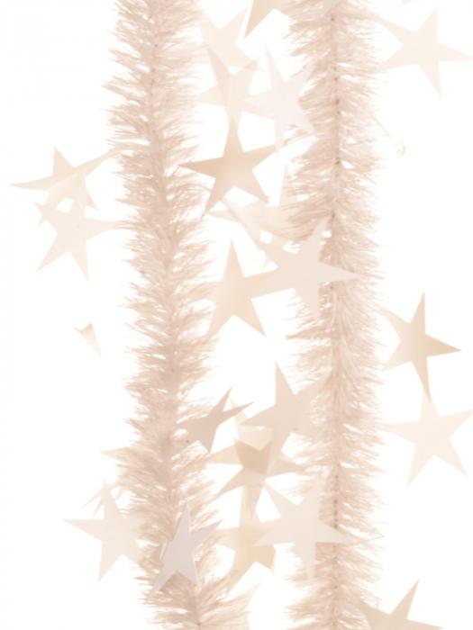 Beteala six-ply cu stele d30mm f1x2m alb gofrat 0