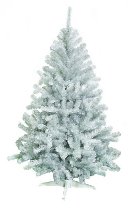 Brad artificial de Craciun Babbo Natale 150cm argintiu [0]