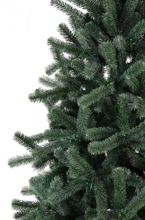 Brad artificial de Craciun Babbo Natale 180cm verde brinat [2]