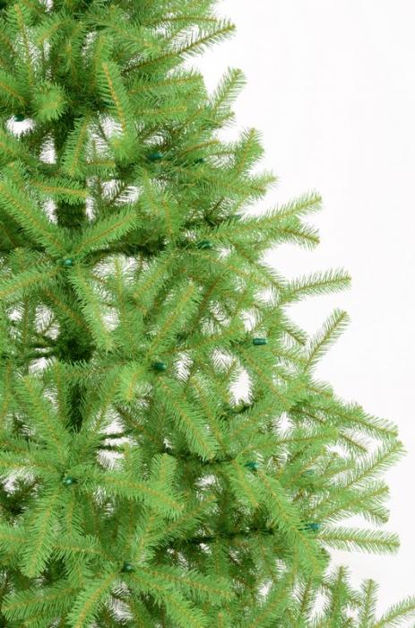 Brad artificial de Craciun Montana 180 cm verde 1
