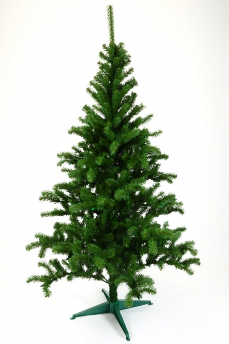 Brad artificial de Craciun Monte Bianco 180cm verde [0]