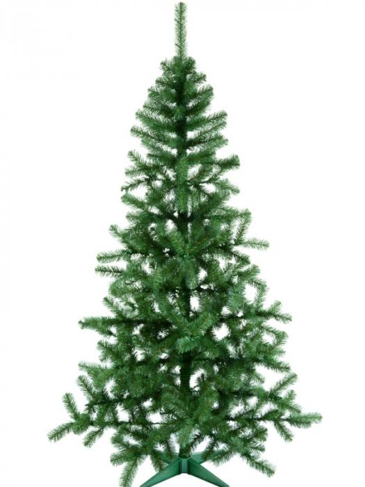 Brad artificial de Craciun Nuovo Silvestro 210 cm verde 0