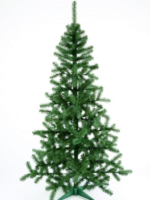 Brad artificial de Craciun Silvestro 180 cm verde inchis [4]