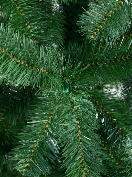 Brad artificial de Craciun Silvestro 180 cm verde inchis [3]