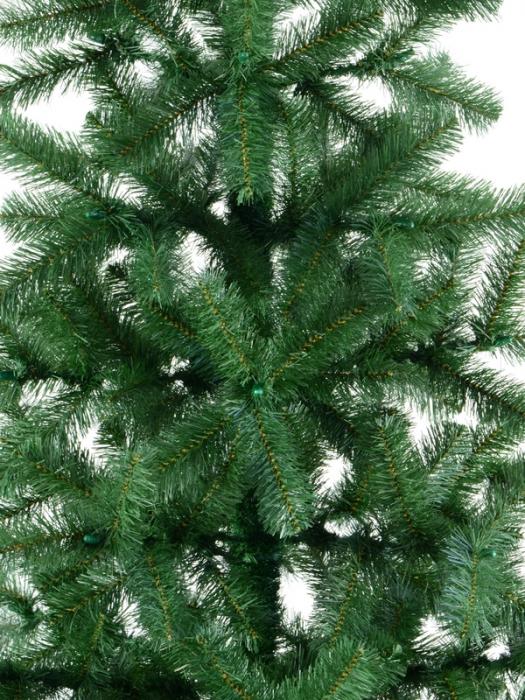 Brad artificial de Craciun Silvestro 180 cm verde inchis [1]