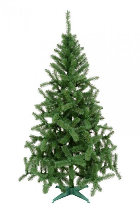 Brad artificial de Craciun Silvestro 200 cm verde inchis 0