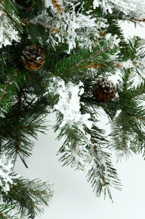 Brad artificial de Craciun Vichingo 180 cm verde nins 3