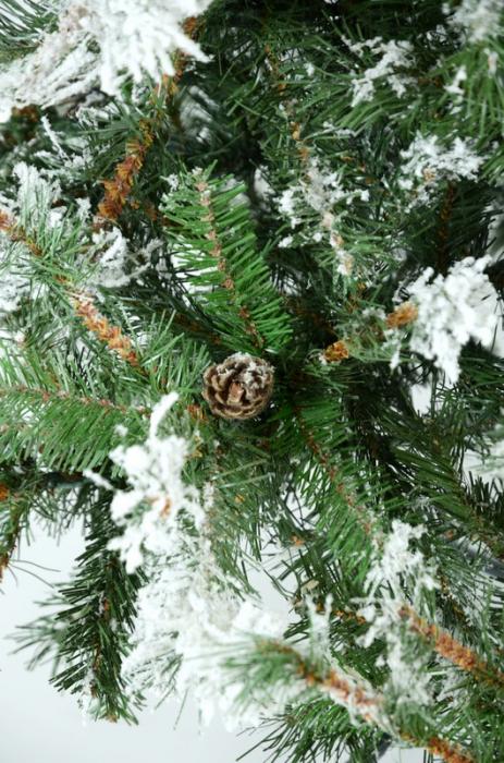 Brad artificial de Craciun Vichingo 180 cm verde nins 2