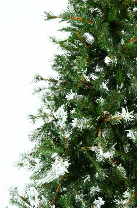 Brad artificial de Craciun Vichingo 180 cm verde nins 5