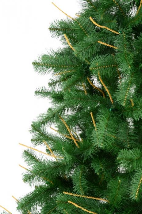 Brad artificial de Craciun Wisconsin 210cm verde 2