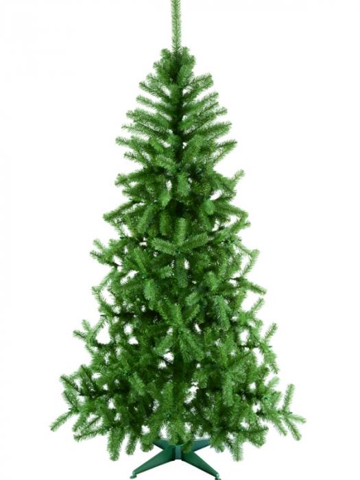 Brad artificial de Craciun Babbo Natale 210 cm verde 0