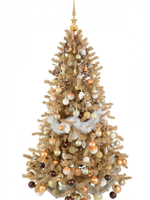 Brad de Craciun Babbo Natale 180 cm din hartie reciclata 0