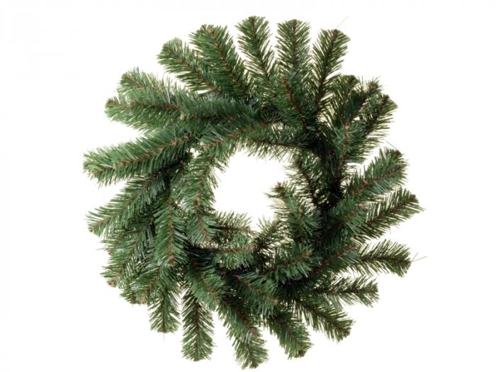Coronita de Craciun 35 cm verde 0