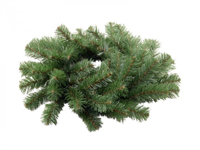 Coronita de Craciun 35 cm verde 1