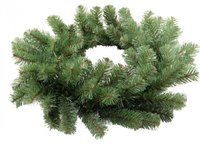 Coronita de Craciun 45 cm verde [1]