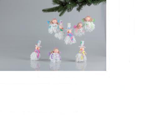 Figurine ornament inger/om de zapada 10-14cm 8 modele [0]