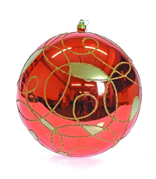 Glob 200mm portocaliu decor Arabegiante 0