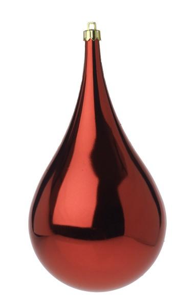 Glob Picatura 100mm metalizat rosu 0