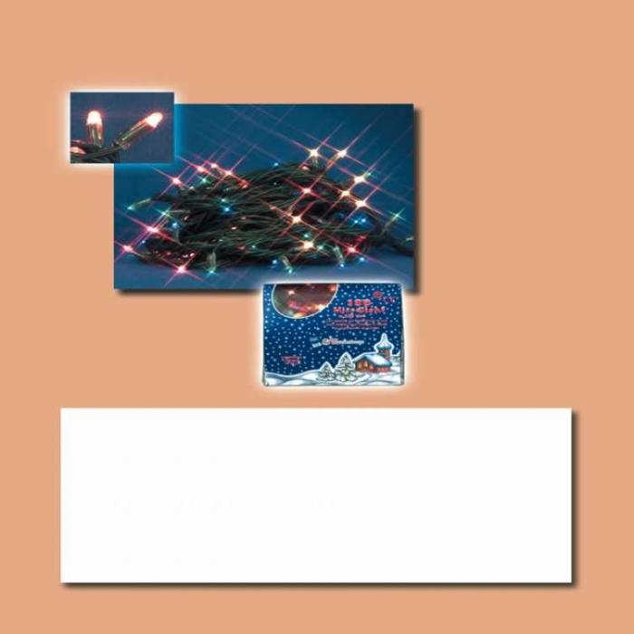 Instalatie cu 180 microluminite albe cu variator 0