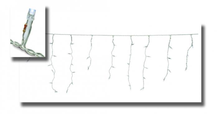 Instalatie turturi cu 180 leduri albe cu transformator si variator, pentru exterior 0