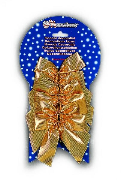 Set 6 fundite aurii 9X9cm 0