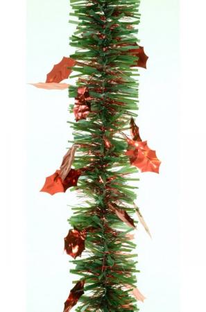 Beteala Agrifoglio Max 75mm verde cu frunze rosii0