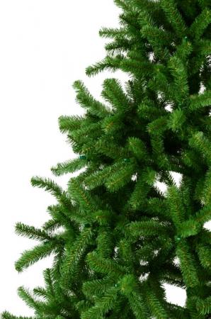 Brad artificial de Craciun Nuovo America 180 cm verde1