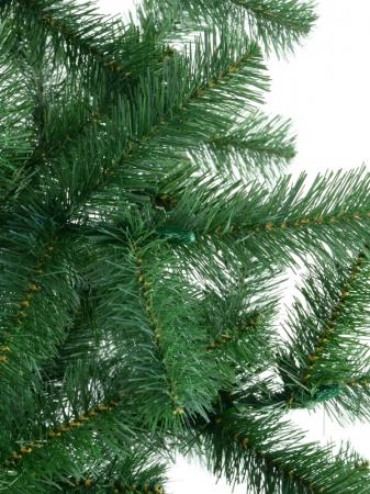 Brad artificial de Craciun Silvestro 180 cm verde inchis [2]