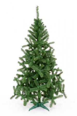 Brad artificial de Craciun Silvestro 200 cm verde inchis2