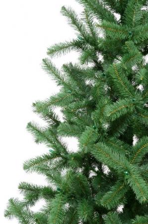 Brad artificial de Craciun Silvestro 200 cm verde inchis1