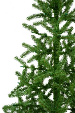 Brad artificial de Craciun Tiffany 180cm verde [2]