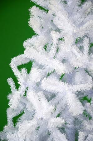 Brad de Craciun artificial Fagaras 210 cm alb0