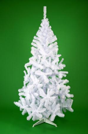 Brad de Craciun artificial Fagaras 210 cm alb1