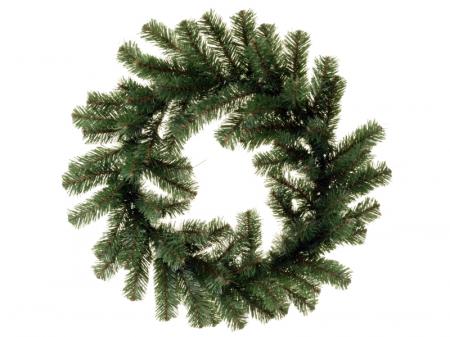 Coronita de Craciun 45 cm verde