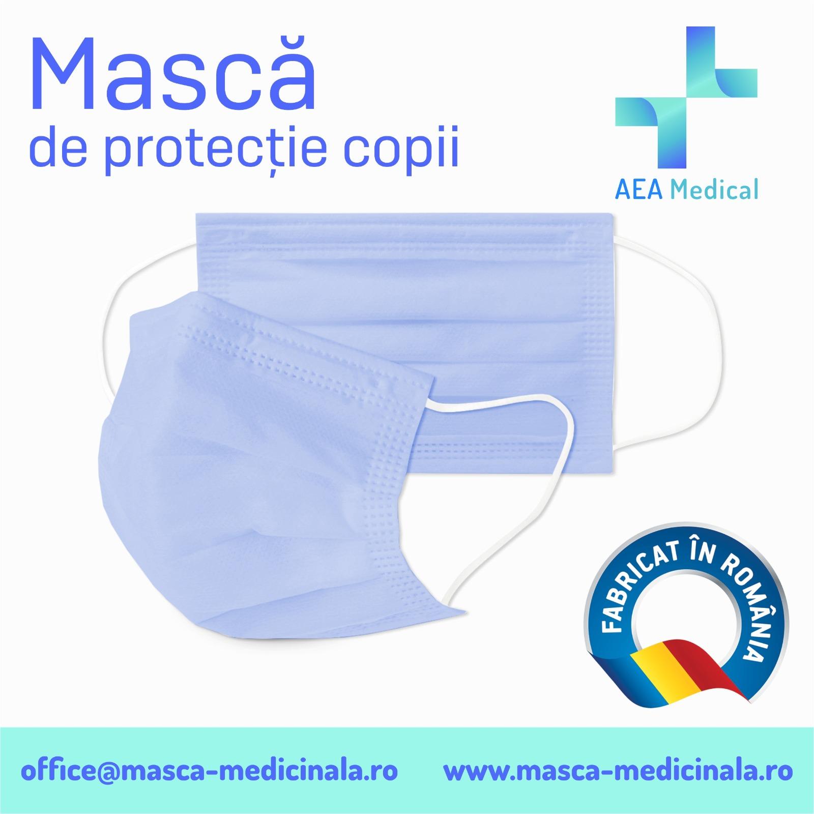 MASCA FACIALA DE PROTECTIE pentru COPII