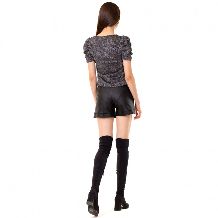 Pantalon scurt inimatie piele 2