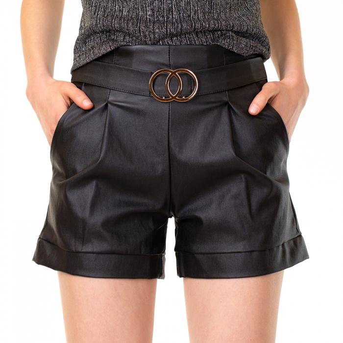 Pantalon scurt inimatie piele 0